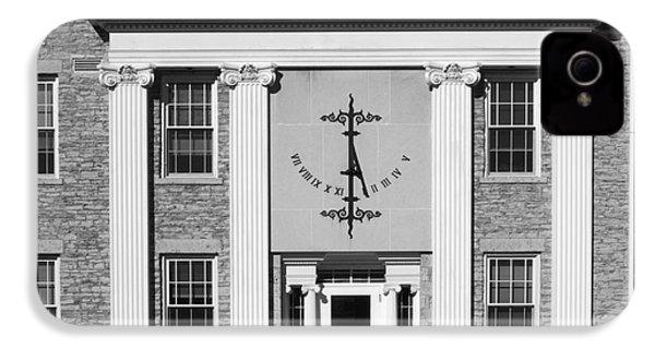 Lawrence University Main Hall Sundial IPhone 4s Case by University Icons