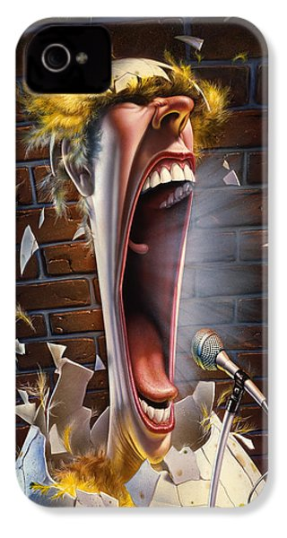 Leonard J. Waxdeck's 25th Annual Bird Calling Contest IPhone 4s Case by Mark Fredrickson
