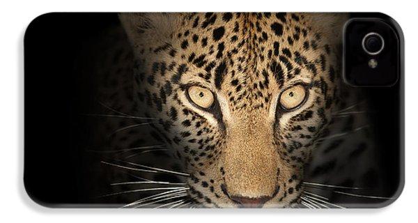 Leopard In The Dark IPhone 4s Case