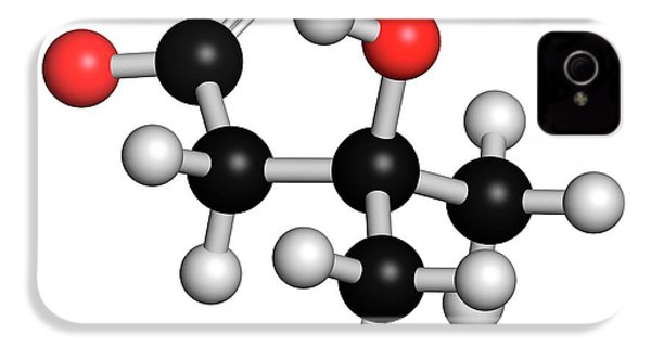 Leucine Metabolite Molecule IPhone 4s Case by Molekuul