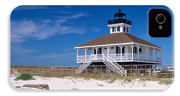 Lighthouse On The Beach, Port Boca IPhone 4s Case by Panoramic Images