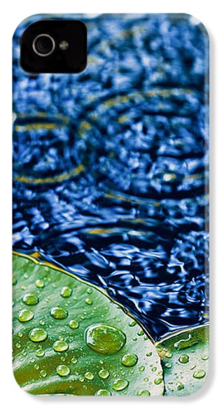 Lily Pads IPhone 4s Case by Debi Bishop