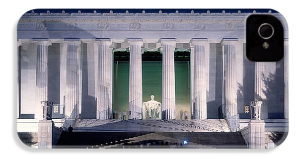 Lincoln Memorial At Dusk, Washington IPhone 4s Case by Panoramic Images
