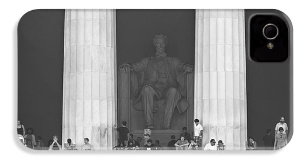 Lincoln Memorial - Washington Dc IPhone 4s Case by Mike McGlothlen