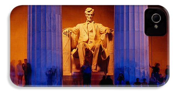 Lincoln Memorial, Washington Dc IPhone 4s Case by Panoramic Images