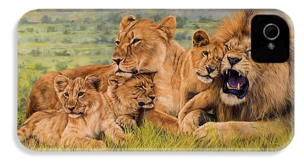 Lion Family IPhone 4s Case