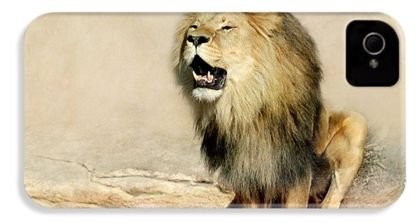 Lion IPhone 4s Case by Heike Hultsch