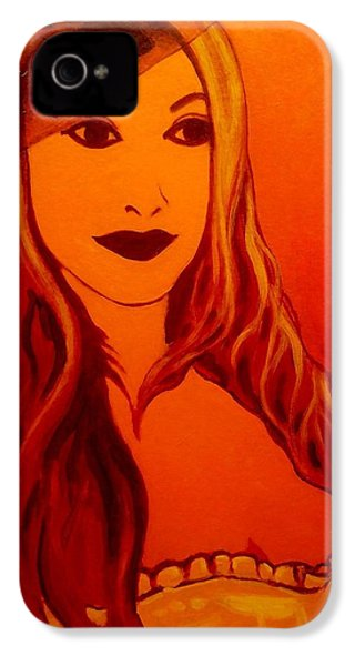 Lisa Darling II - The Irish Burlesque School IPhone 4s Case by John  Nolan