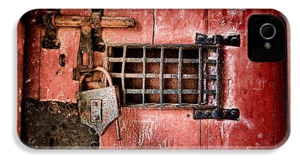 Locked Up IPhone 4s Case by Olivier Le Queinec
