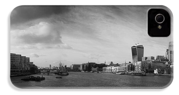 London City Panorama IPhone 4s Case by Pixel Chimp
