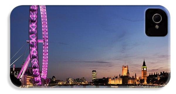 London Eye IPhone 4s Case by Rod McLean