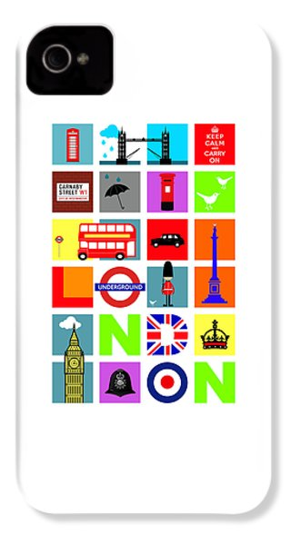 London IPhone 4s Case