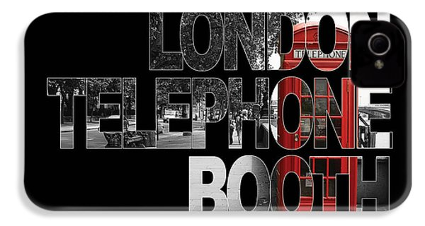 London Telephone Booth IPhone 4s Case