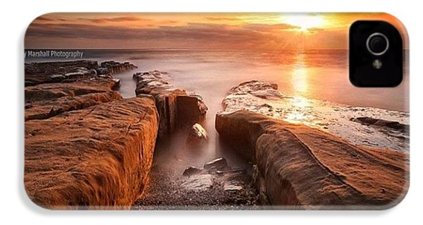 Long Exposure Sunset At A Rocky Reef In IPhone 4s Case