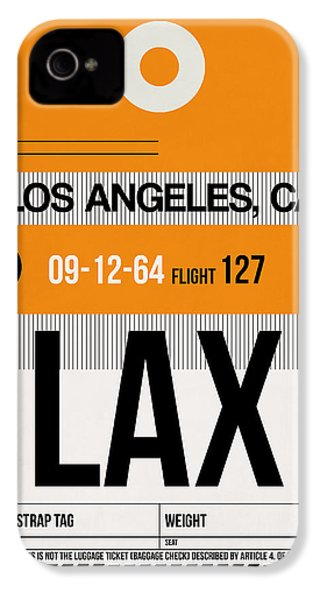 Los Angeles Luggage Poster 2 IPhone 4s Case