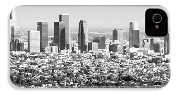 Los Angeles Skyline Panorama Photo IPhone 4s Case by Paul Velgos