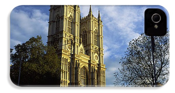 Low Angle View Of An Abbey, Westminster IPhone 4s Case by Panoramic Images