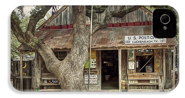 Luckenbach 2 IPhone 4s Case by Scott Norris