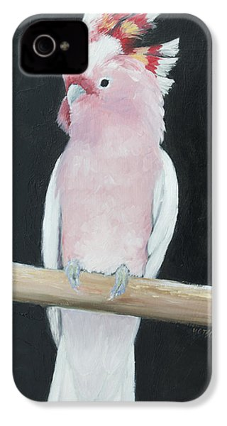 Major Mitchell Cockatoo IPhone 4s Case by Jan Matson