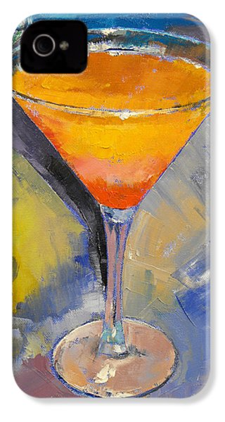 Mango Martini IPhone 4s Case by Michael Creese