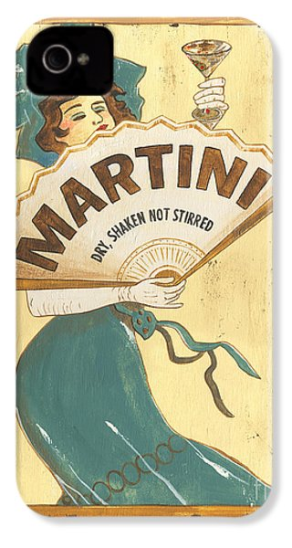 Martini Dry IPhone 4s Case by Debbie DeWitt