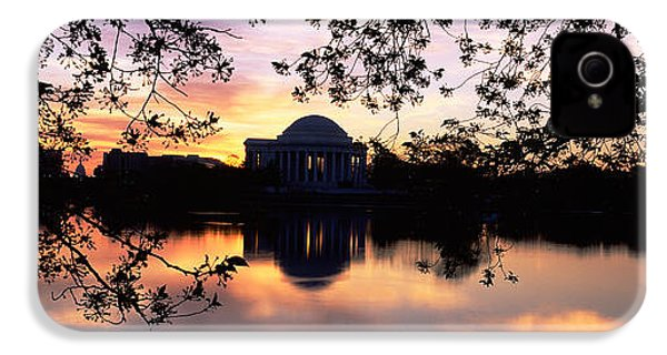 Memorial At The Waterfront, Jefferson IPhone 4s Case by Panoramic Images
