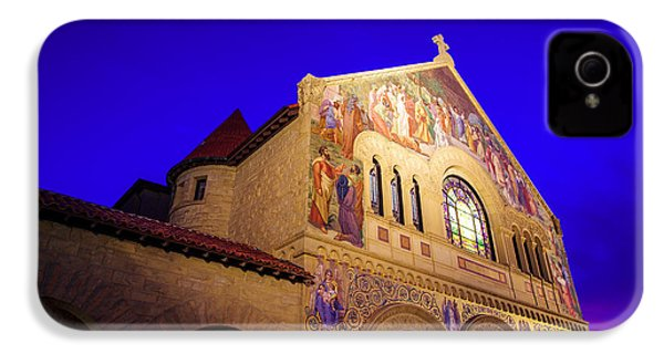 Memorial Church Stanford University IPhone 4s Case by Scott McGuire