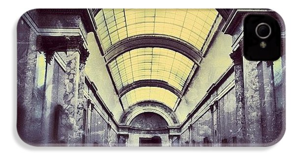 #mgmarts #paris #france #europe #louvre IPhone 4s Case by Marianna Mills