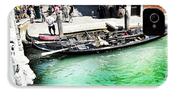 #mgmarts #venice #italy #europe #canal IPhone 4s Case by Marianna Mills