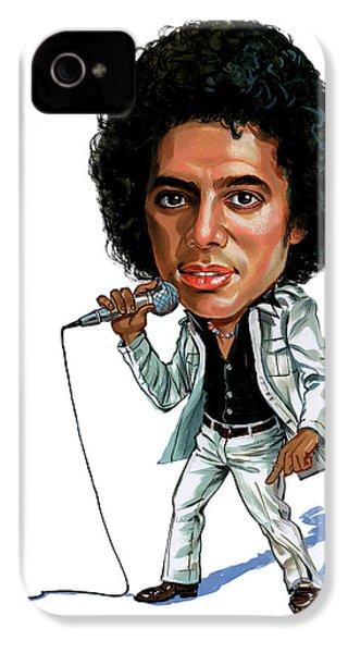 Michael Jackson IPhone 4s Case by Art