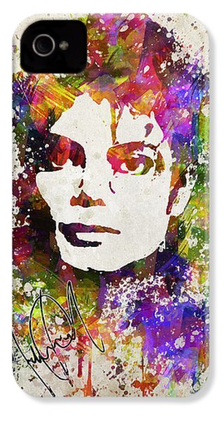Michael Jackson In Color IPhone 4s Case by Aged Pixel