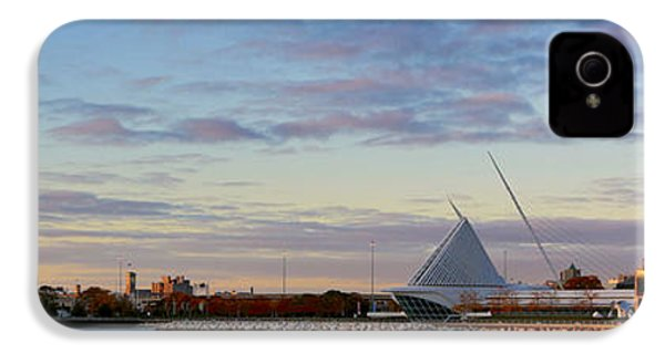 IPhone 4s Case featuring the photograph Milwaukee At Sunrise  by Ricky L Jones