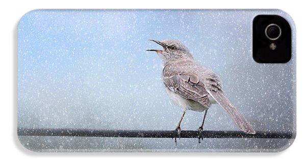 Mockingbird In The Snow IPhone 4s Case