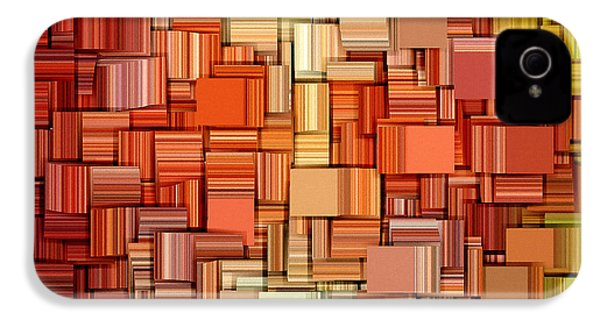 Modern Abstract Viii IPhone 4s Case by Lourry Legarde