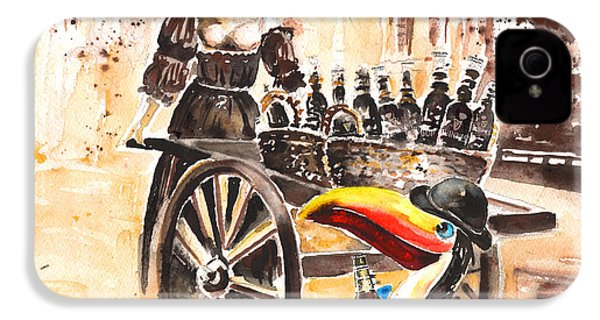 Molly Malone IPhone 4s Case by Miki De Goodaboom