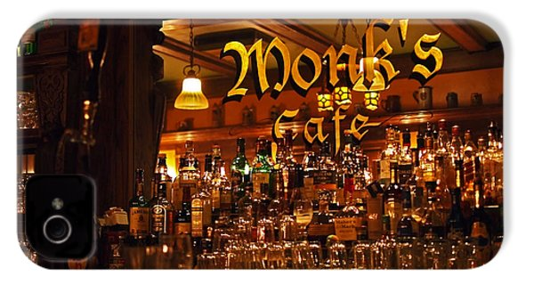 Monks Cafe IPhone 4s Case