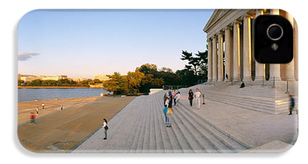 Monument At The Riverside, Jefferson IPhone 4s Case by Panoramic Images