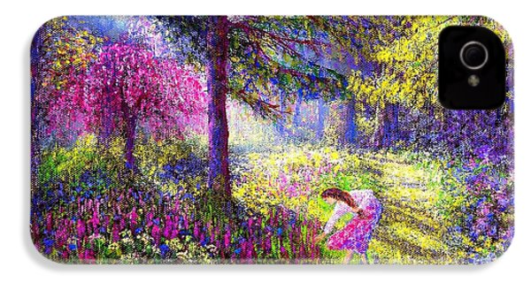 Morning Dew IPhone 4s Case by Jane Small