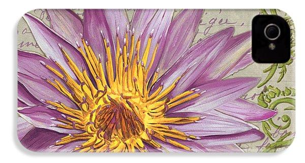 Moulin Floral 1 IPhone 4s Case by Debbie DeWitt