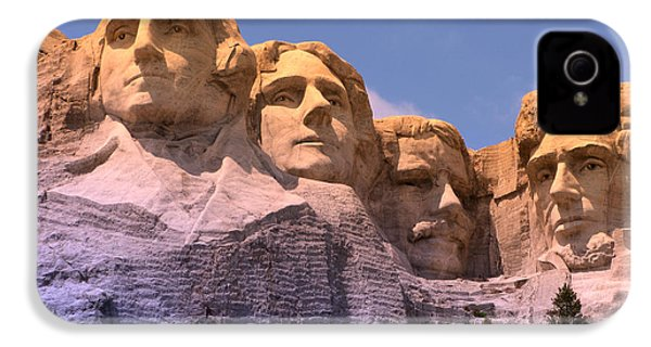 Mount Rushmore IPhone 4s Case by Olivier Le Queinec