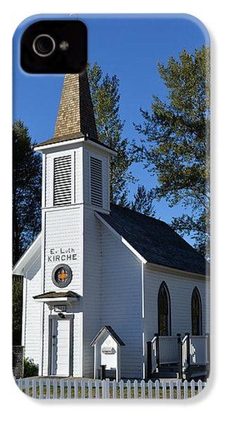 IPhone 4s Case featuring the photograph Mountain Chapel by Anthony Baatz