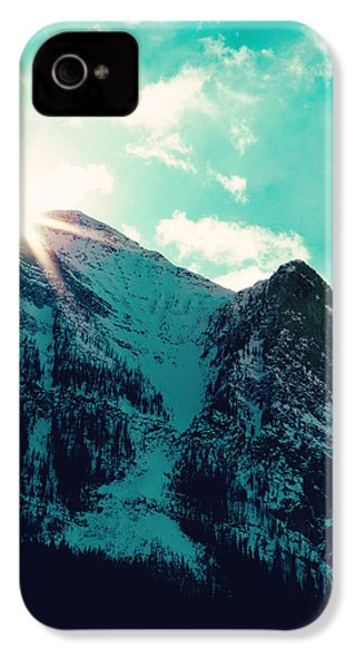 Mountain Starburst IPhone 4s Case by Kim Fearheiley