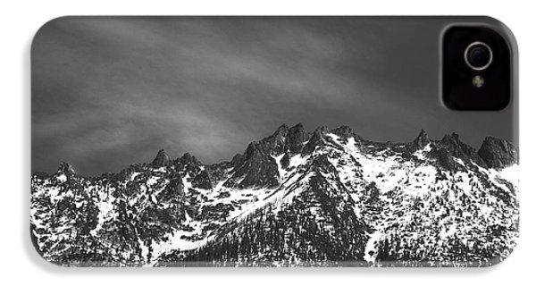 North Cascade Mountain Range IPhone 4s Case by Yulia Kazansky