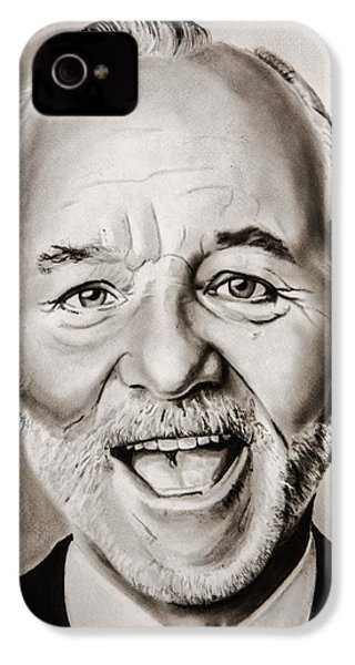 Mr Bill Murray IPhone 4s Case by Brian Broadway