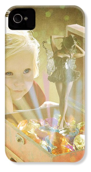 Musicbox Magic IPhone 4s Case by Linda Lees