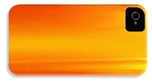 Mute Sunset IPhone 4s Case by John Edwards