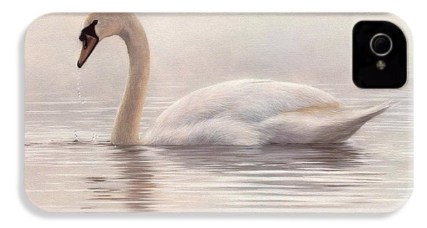 Mute Swan Painting IPhone 4s Case