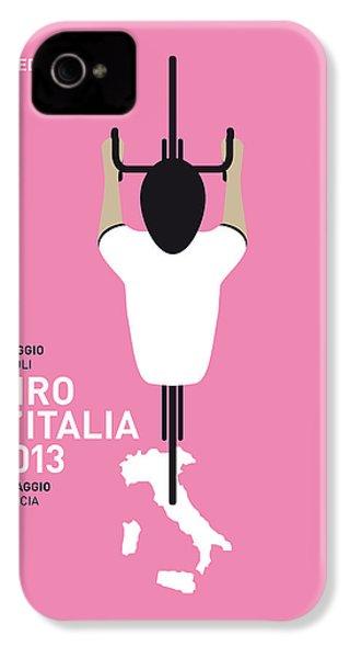 My Giro D'italia Minimal Poster IPhone 4s Case by Chungkong Art
