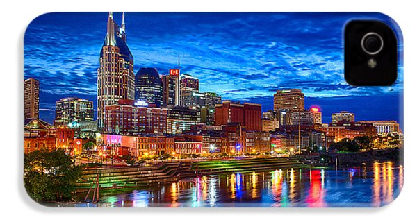 Nashville Skyline IPhone 4s Case by Dan Holland