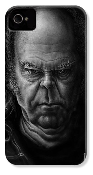 Neil Young IPhone 4s Case by Andre Koekemoer